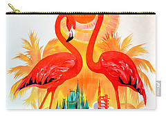 Vintage Florida Amtrak Travel Poster Carry-all Pouch