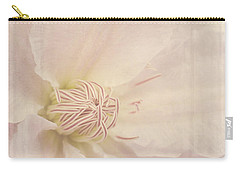 Vintage Flower Art - A Beautiful Place Carry-all Pouch by Jordan Blackstone