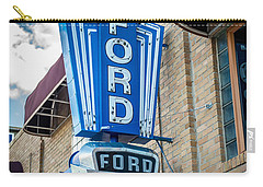 Vintage Ford Sign Carry-all Pouch