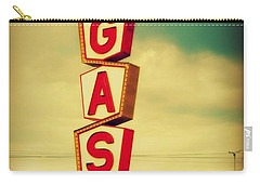 Vintage Gas Sign Carry-all Pouch