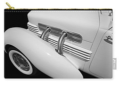 Vintage Car Carry-all Pouch featuring the photograph Vintage Ghost  by Aaron Berg