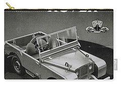 Vintage Land Rover Advert Carry-all Pouch