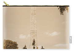 Vintage Lincoln's Tomb Carry-all Pouch
