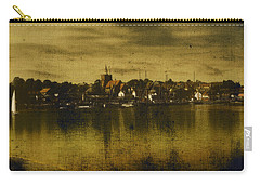 Carry-all Pouch featuring the digital art Vintage Maldon  by Fine Art By Andrew David
