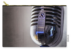 Vintage Microphone 2 Carry-all Pouch by Scott Norris