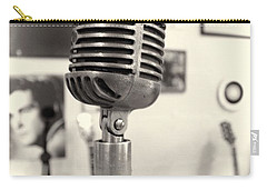 Vintage Microphone Sun Studio Carry-all Pouch by Dan Sproul