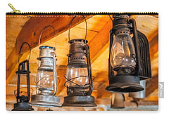 Vintage Oil Lanterns Carry-all Pouch by Paul Freidlund