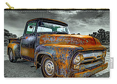 Vintage  Pickup Truck Carry-all Pouch