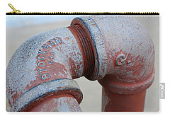 Vintage Pipe Recycled  Carry-all Pouch
