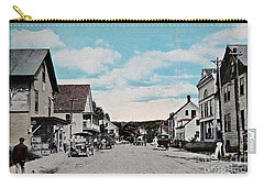 Vintage Postcard Of Wolfeboro New Hampshire Art Prints Carry-all Pouch