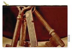 Vintage Skeleton Keys I Carry-all Pouch