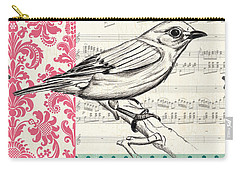 Vintage Songbird 1 Carry-all Pouch