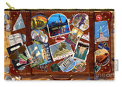 Vintage Travel Case Carry-all Pouch