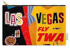 Vintage Travel Poster - Las Vegas Carry-all Pouch