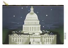 Vintage Travel Poster - Washington Carry-all Pouch