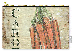 Vintage Vegetables 4 Carry-all Pouch by Debbie DeWitt