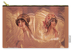 Vintage Victorian Rivals II Carry-all Pouch