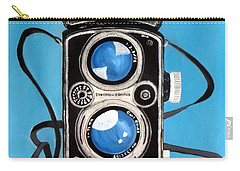 Vintage View Camera Carry-all Pouch by Karyn Robinson