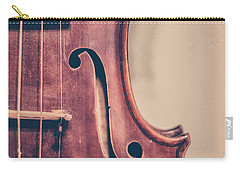 Vintage Violin Portrait 2 Carry-all Pouch