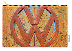 Vintage Volkswagen Bus Logo Carry-all Pouch
