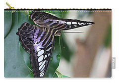 Violet Clipper Butterfly Carry-all Pouch