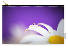 Violet Daisy Dreams Carry-all Pouch
