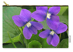 Violet Trio Carry-all Pouch