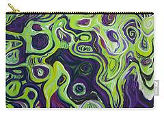 Violeta E Verde Carry-all Pouch