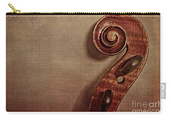 Violin Scroll Carry-all Pouch