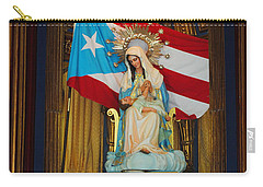 Virgin Mary In Church Carry-all Pouch