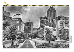 Carry-all Pouch featuring the photograph Virginia Ave. by Howard Salmon