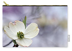 Carry-all Pouch featuring the photograph Virginia Dogwood by Cathy Shiflett