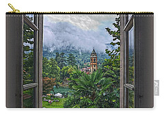 Carry-all Pouch featuring the photograph Vision Through The Window by Hanny Heim