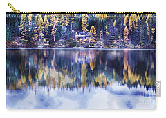 Visions- Lake Inez Carry-all Pouch by Janie Johnson