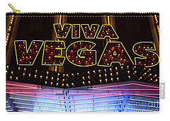 Viva Vegas Neon Carry-all Pouch by Bob Christopher
