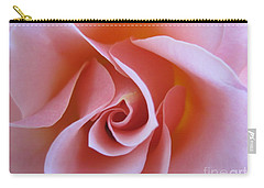 Vivacious Pink Rose Carry-all Pouch