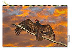 Vivid Vulture Carry-all Pouch