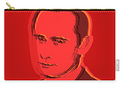 Vladimir Putin Carry-all Pouch by Jean luc Comperat