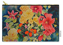 Carry-all Pouch featuring the painting Vogue by Beatrice Cloake