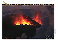 Volcanic Eruptions Carry-all Pouch by Gunnar Orn Arnason