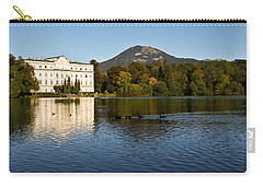 Carry-all Pouch featuring the photograph Von Trapp's Mansion by Silvia Bruno