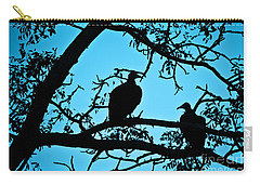 Vultures Carry-all Pouch by Delphimages Photo Creations