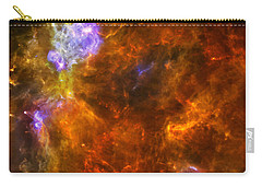 Carry-all Pouch featuring the photograph W3 Nebula by Science Source