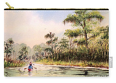 Wacissa River  Carry-all Pouch by Bill Holkham