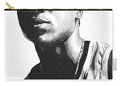 Carry-all Pouch featuring the drawing Wagner by Tamir Barkan