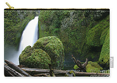Wahclella Falls And Boulder Carry-all Pouch