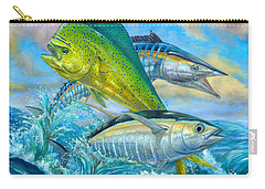 Wahoo Mahi Mahi And Tuna Carry-all Pouch