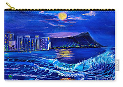 Waikiki Lights Carry-all Pouch