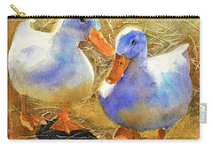 Wait For Me Carry-all Pouch by Bonnie Rinier