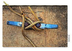 Waiting - Boat Tie Cleat By Sharon Cummings Carry-all Pouch